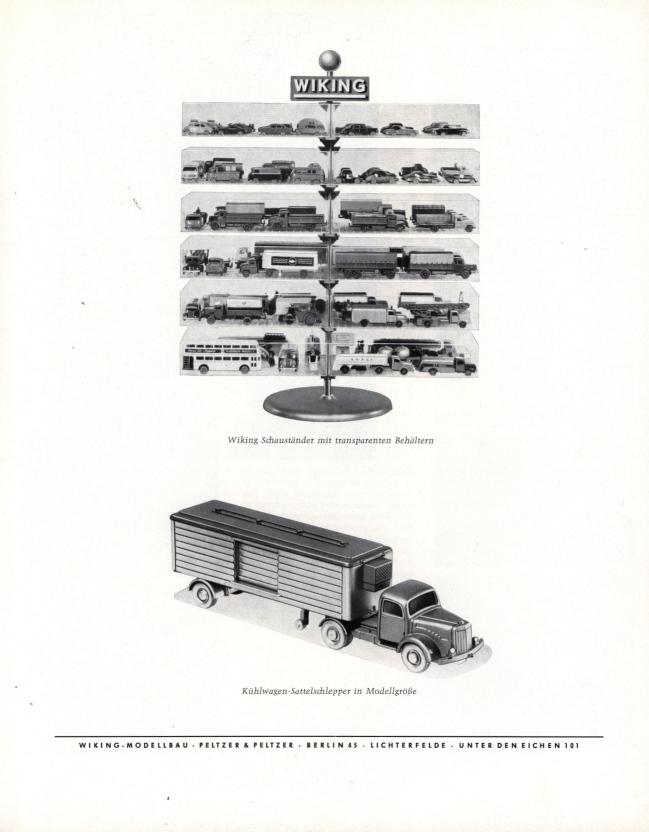 wiking katalog sonderdruck das spielzeug 1963 h nde u. Black Bedroom Furniture Sets. Home Design Ideas